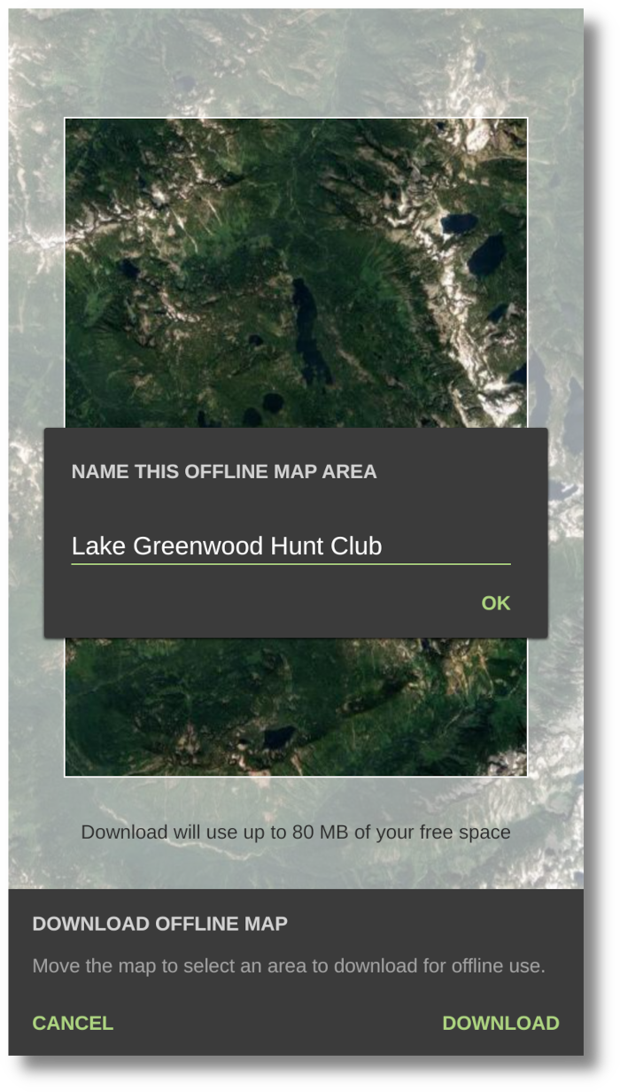 HuntStand App Screenshot